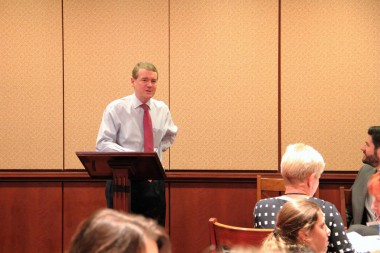 BizCARES delegation hears from Sen. Michael Bennet at the U.S. Capitol