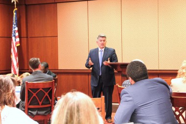 BizCARES delegation hears from Sen. Cory Gardner at the U.S. Capitol