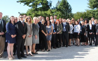The BizCARES delegation at the Swiss Embassy