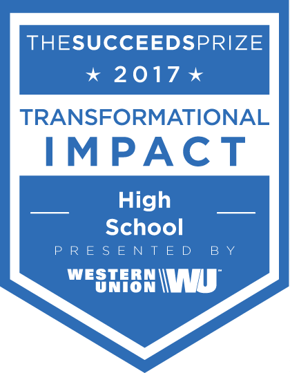 Transformational Impact in a High School (grades 9-12)