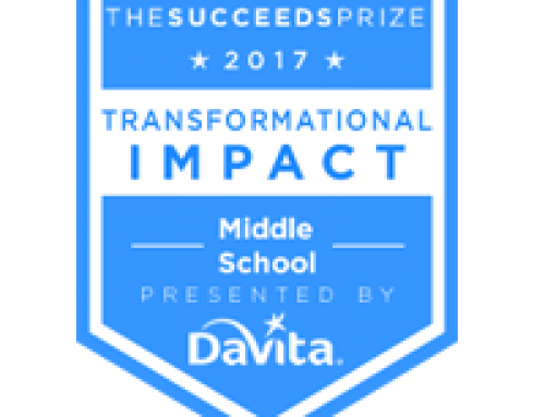 The Succeeds Prize 2017 Finalists – Middle School