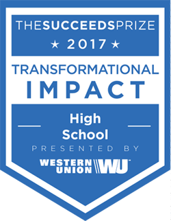 succeeds-prize-award-transformation-impact-high-school-2017 small