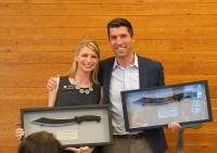 Sen. Owen Hill and Representative Brittany Pettersen at Colorado Succeeds 2017 Legislative Recap