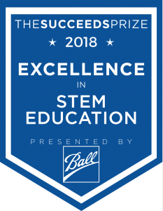 The Succeeds Prize 2018 STEM Award logo