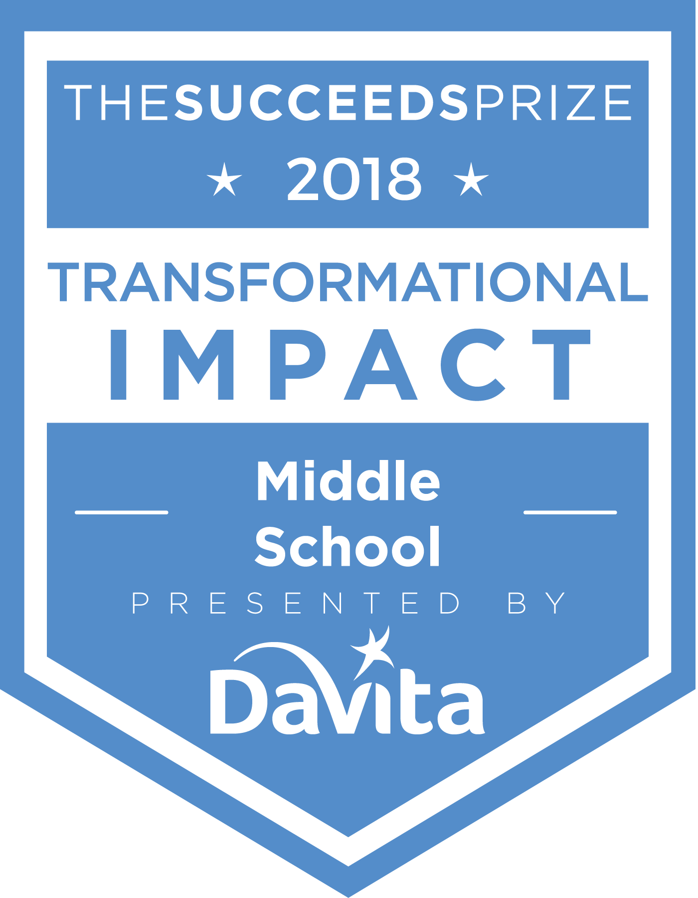 Transformational Impact in a Middle School (grades 6-8)