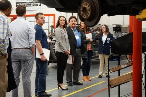 STEM Champions tour a career academy program