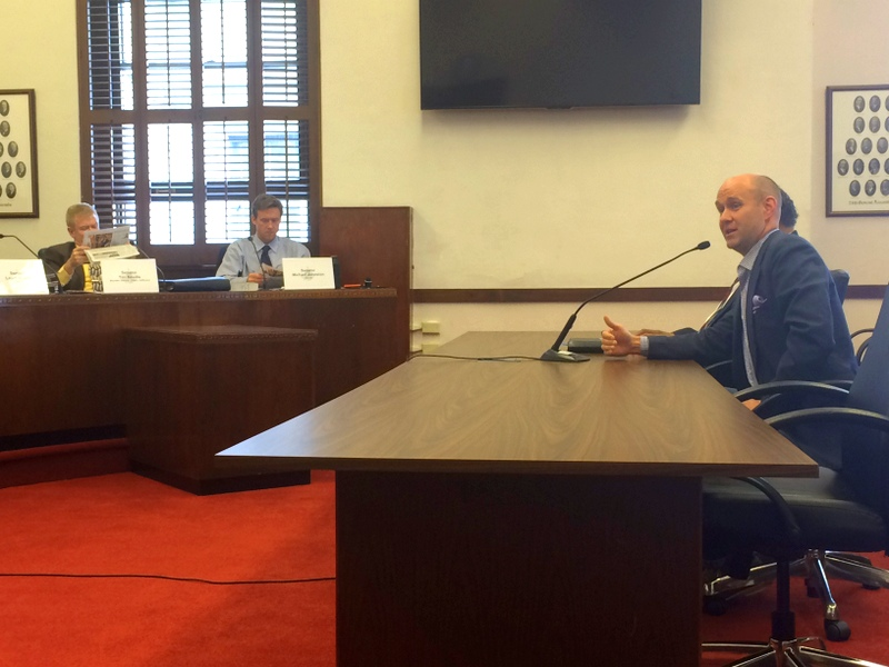 Blackburn presents in front of the Senate Education Committee in April