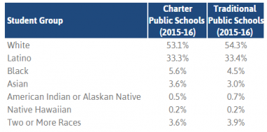 Colorado charter school demographics