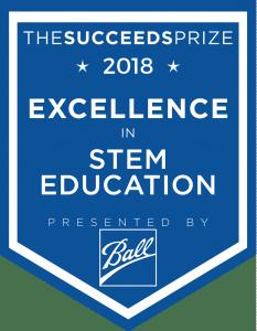 The Succeeds Prize 2018 STEM Award logo